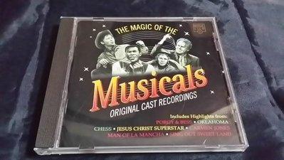 R西洋團(二手CD)THE MAGIC OF THE MUSICALS ORIGINAL CAST RECORDINGS~