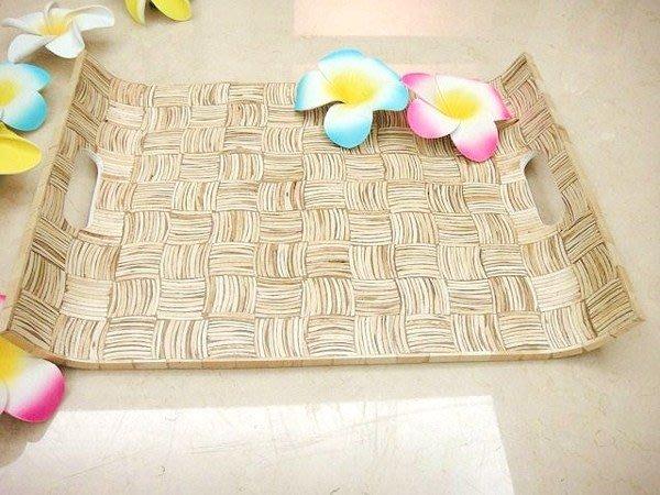 Y【永晴峇里島】巴里島風木製托盤,增添異國風味,居家,民宿,飯店都好用-托盤4
