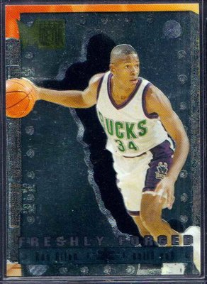 96-97 METAL FRESHLY FORGED #2 RAY ALLEN RC
