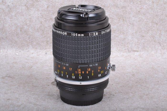 【品光數位】NIKON AIS 105mm F2.8 Micro 手動 微距鏡 FI#57983