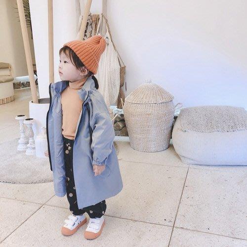 男女童風衣外套 童裝 立領個性風衣外套  艾爾莎 【TCH7916】