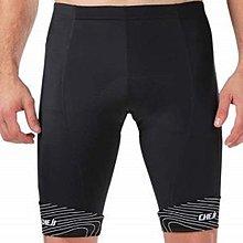 MAY SHOP【b003】吸濕排汗超輕透氣 單車平口短褲