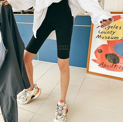 【MANIFEST韓國連線】彈性包腹五分馬褲【現貨+預購】正韓 簡約時尚 可樂果 韓妮 CHAN 心田 5253