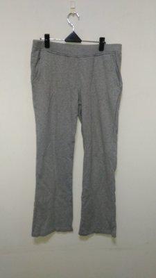 九成新~ bossini  灰色 棉 直筒運動休閒褲 M ---  男女生都可以穿 ----