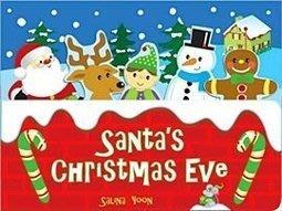 *小貝比的家*SANTAS CHRISTMAS EVE /硬頁書/75折至12/26止