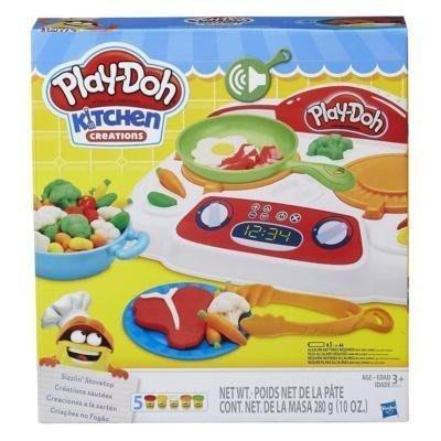 【W先生】培樂多 Play-Doh 廚房系列 吱吱火爐料理組 創意DIY黏土 扮家家酒