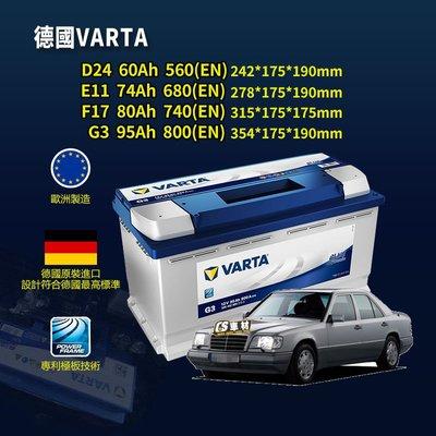 CS車材-VARTA 華達電池 BENZ S205/W205/C117/X117/W124/W213/S213/C238