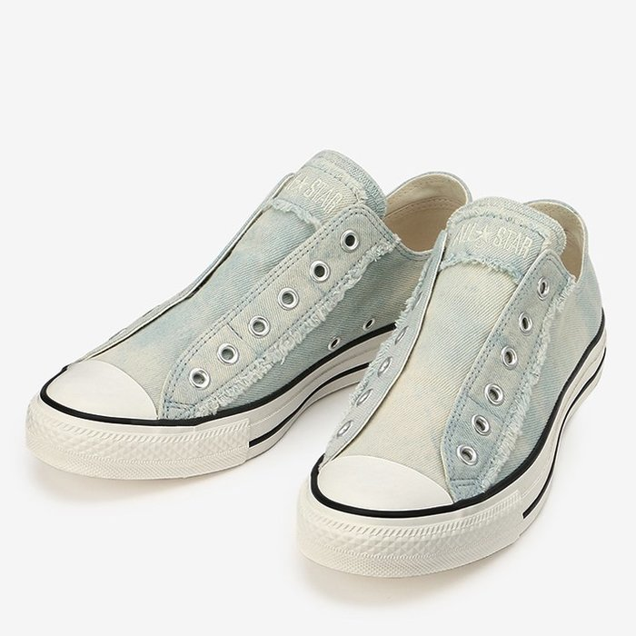 【S.I. 日本代購】CONVERSE ALL STAR WORNOUT DENIM SLIP OX,兩件省更多,免運