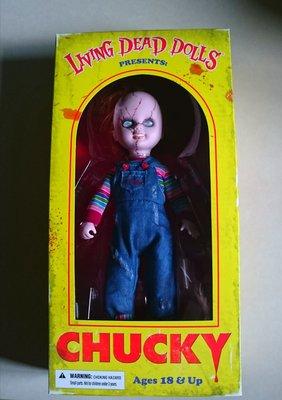 全新絕版Mezco LDD Living Dead Dolls CHUCKY