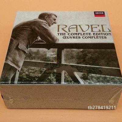 全新CD 拉威爾作品全集14CD 作曲家精華 RAVEL The Complete Edition CD