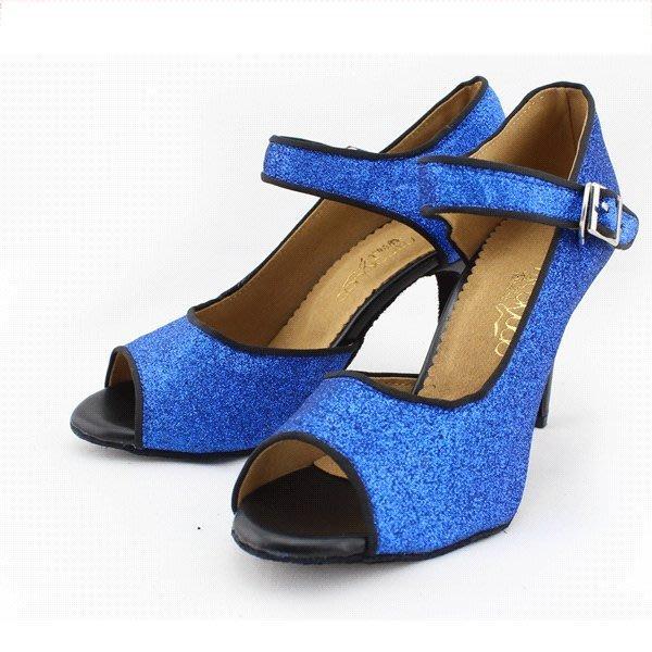 5Cgo【鴿樓】會員有優惠 22296215445 女式拉丁舞鞋中跟高跟 國標舞鞋 女式軟底跳舞鞋