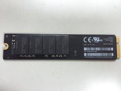 賣 2012年 MacBook Air 128SSD 原廠硬碟@ 13吋/11吋適用 台北可安裝 電腦型號:A1466
