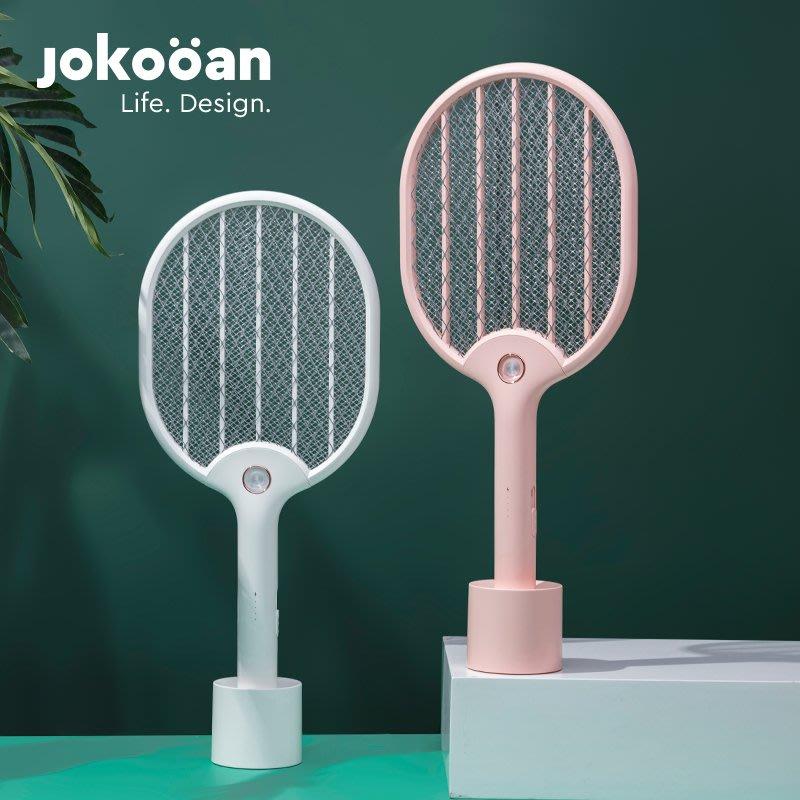 電蚊拍USB充電式家用強力多功能蒼蠅拍大網面LED燈拍蚊子滅蚊神器