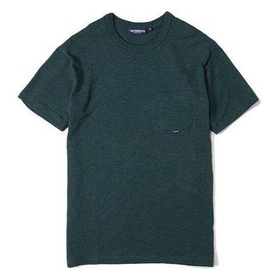 [RiggaLAB] Interbreed slab cotton tee 口袋 t 深綠 墨綠 小熊 polo