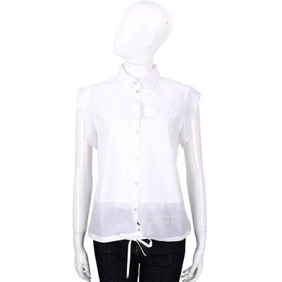 米蘭廣場 MARELLA 白色抽繩綁帶...