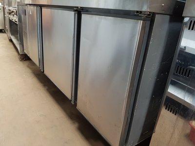【泰裕二手貨餐具行】中古冷藏環保節能工作台冰箱(另有工作台攤車水槽)