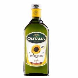 6瓶,Olitalia奧利塔 頂級葵花油 1000ml / 瓶,玻璃瓶只能以宅配出貨!!
