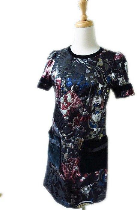*Beauty*MARC JACOBS金蔥短袖洋裝0號  18000  元WE18