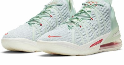 "Nike LeBron 18 ""Empire Jade"" 紫禁重器 DB7644-002 US7-13"