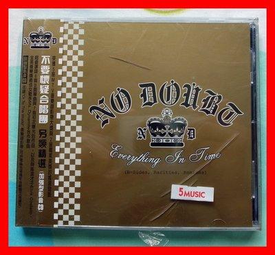 ◎2004全新CD未拆!17首好歌-不要懷疑合唱團-No Doubt-另類精選(加強型影音CD)-等17首好歌-ROCK