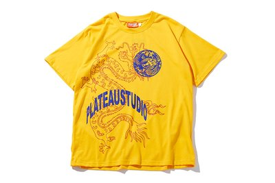 "[ LAB Taipei ] PLATEAU STUDIO ""DRAGON WORLD TEE"" (Yellow)"