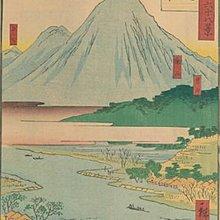 現代裝飾畫諸國六十八景浮世繪日本風俗風景復古懷舊