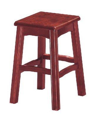 【浪漫滿屋家具】(Gp)604-11 明式高鼓椅(紅木色)