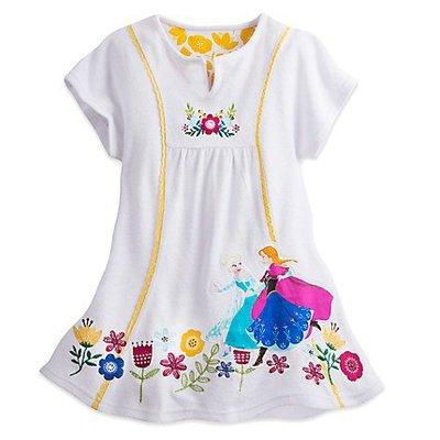 【豆芽Tsai美國商品】美國正品迪士尼  Disney  Frozen  冰雪奇緣  泳衣罩衫 浴裙