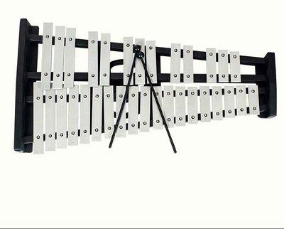【樂器王u75】鐵木琴系列~ 【32 音鐵琴附棒 直購:2400元】架子加購1200元 木琴 鐵琴  附棒