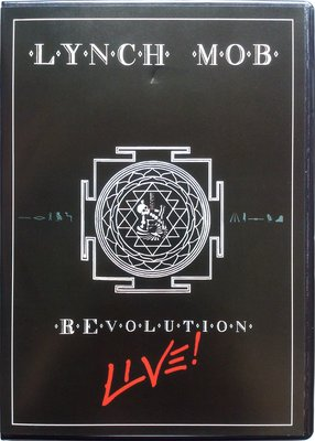 CD+DVD/ Lynch Mob - Revolution Live! 二手 喜馬拉雅