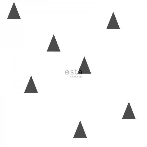 【Uluru】歐洲期貨壁紙.童趣 triangle (2色) 幾何圖形 三角形 小三角形 兒童房 壁紙 HE104系列