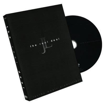 【意凡魔術小舖】[魔術魂道具Shop] 美國原版教學DVD~The Real Deal by Jeff Lianza~~真實發牌