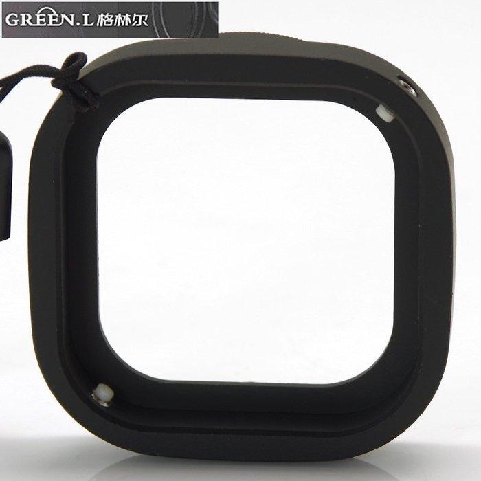 又敗家Green.L運動錄影機GoPro副廠潛水盒濾鏡轉接環AR-1轉52mm濾鏡轉接環英雄+ 3 3+ 4黑色Black銀色Silver運動攝影機潛水殼轉接環