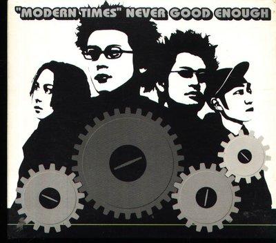 K - NEVER GOOD ENOUGH - Modern times - 日版