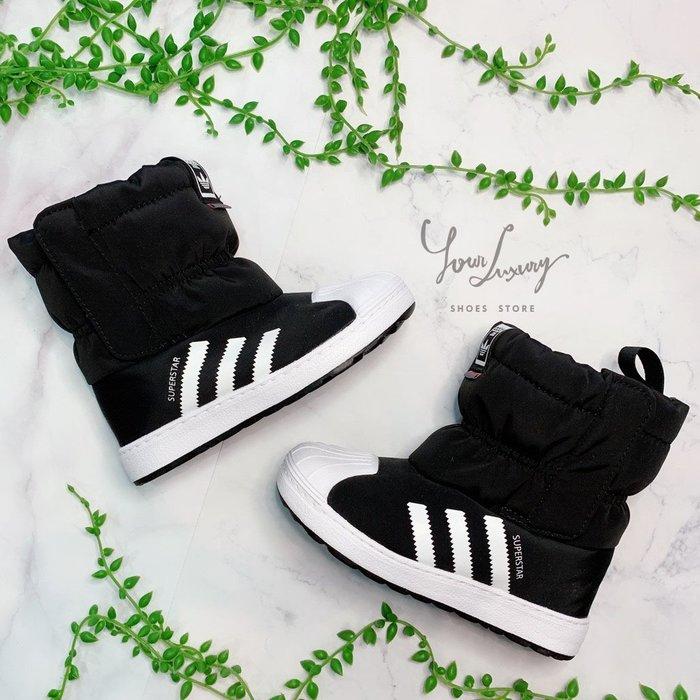 【Luxury】韓國 愛迪達 Adidas 雪靴 兒童雪靴 童靴 黑色 粉色 童鞋 小童 中童 男童鞋 女童鞋 正品代購