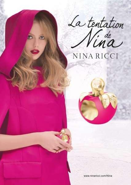 特殊蘋果造型~NINA RICCI-la tentation de Nina蘋果咬一口限量版 女性香水80ML大容量免郵