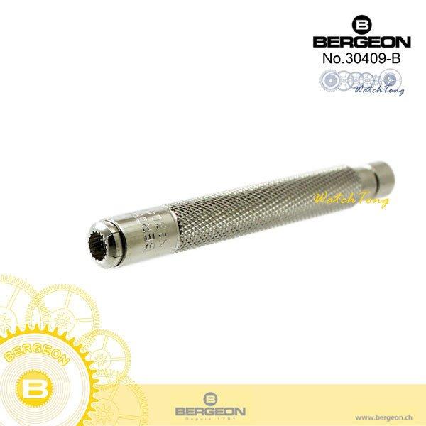 【鐘錶通】B30409-B《瑞士BERGEON》龍頭鉗/把的鉗/龍頭固定鉗├手錶機芯組裝工具/DIY鐘錶維修工具┤