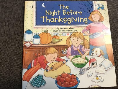全新英文童書 the night before thanksgiving  感恩傑 Natasha wing  11