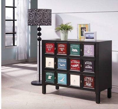 工業風格造型置物櫃斗櫃