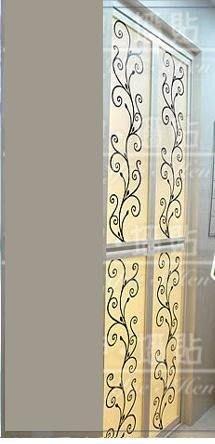 小妮子的家@仿鐵藝花邊壁貼/牆貼/玻璃貼/汽車貼/磁磚貼/家具貼