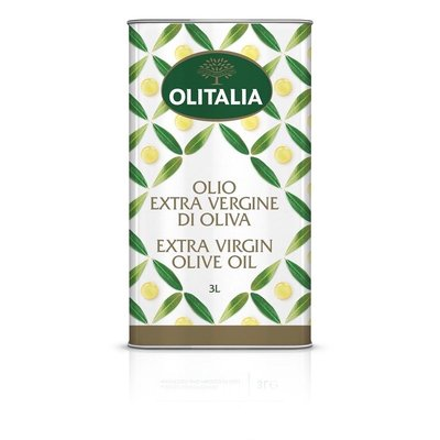 Olitalia奧利塔Extra Virgin特級冷壓初榨橄欖油3L(鐵桶裝)
