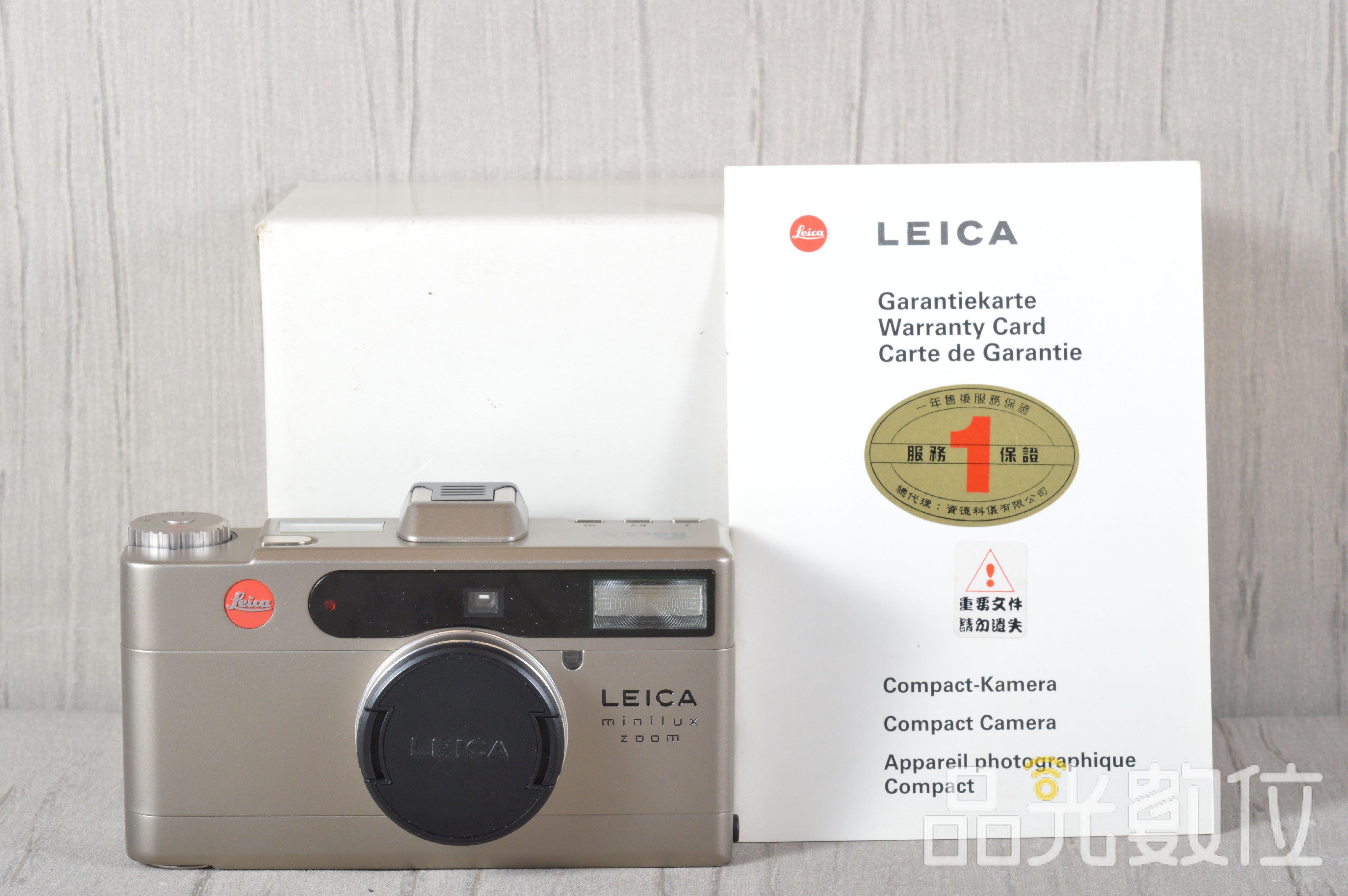 【品光數位】徠卡 LEICA minilux 龍 2000 紀念機 135 底片機 #94010