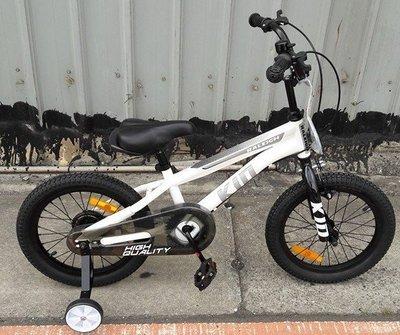 RALEIGH萊禮最新16吋兒童越野腳踏車,鋁合金黑輪框 打氣輪胎乘騎有彈性 適合5歲以上小朋友