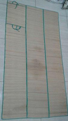 夏威夷 草蓆 摺疊 綠色 天然純手工  只在威基基海灘用過一次  原價39.5美金  請留言勿直接下標