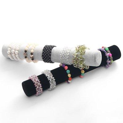 hello小店-絨布手鏈頭花收納陳列展示道具珠寶手鐲頭飾飾品展示架#飾品架#展示道具#