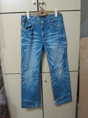 衣市藍~BIG TRAIN 直筒牛仔褲 (W29~) (244) (191118)