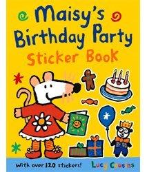 *小貝比的家*MAISYS BIRTHDAY PARTY STICKER BOOK/貼紙書/3~6歲//平裝