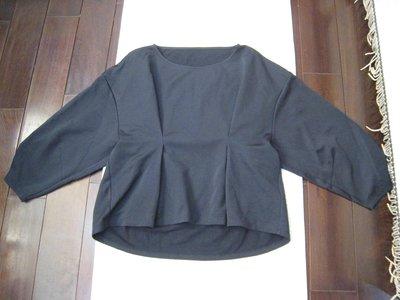日本高單價貴婦品牌GRACE CONTINENTAL黑色美衣
