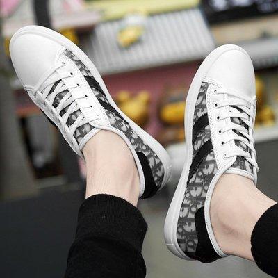 【時尚先生男裝】大碼男鞋新款小白鞋男韓版百搭休閑男鞋低幫情侶單鞋青年休閑板鞋 2005240993