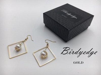 【Birdy Edge】歐美女性 設計 流蘇 線條 幾何 圓圈 耳環 耳墜耳環耳釘 首座 三角形 菱形 雙層 耳環